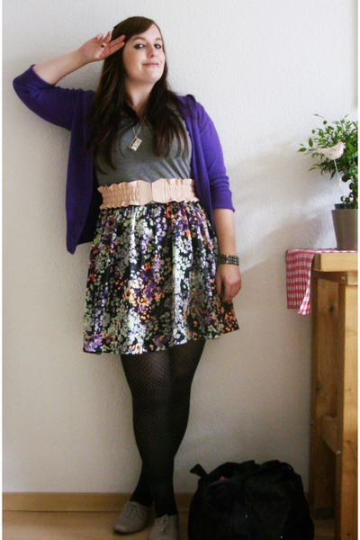 purple 2nd hand via Ebay cardigan