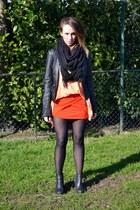 Vero Moda Jeans jacket - Zara scarf