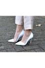 Light-pink-high-waisted-h-m-trend-pants-gray-turtleneck-zara-sweater