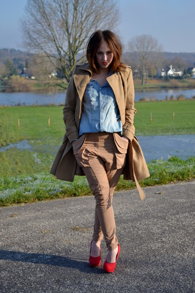 H&M Trend pants - H&M shoes - H&M coat