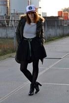 parka G-Star coat - cap TRUCK BRAND hat - high waist COS skirt