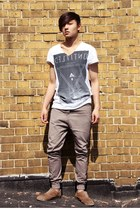 Primark t-shirt - pull&bear shoes - Topman jeans