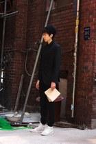 black dior homme blazer - black Raf Simon pants