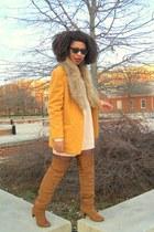 mustard Jacket blazer - tawny OTK boots