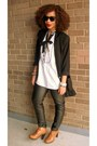 Black-style-revolver-pants-tawny-bonnibel-boots-white-h-m-shirt
