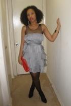 f21 dress - Bob Mackie top - Jessica M accessories - go jane shoes