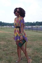 Liz Clairborne purse - Secondhand dress - Nine West shoes