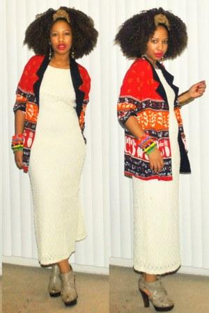 afro print Posh Nouveau blazer - Posh Nouveau dress
