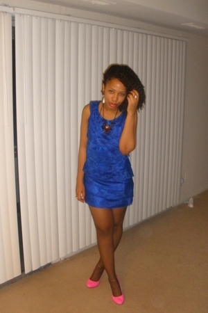 f21 dress - Jessica Simpson shoes