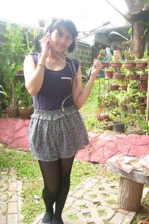 cotton Candies shirt - chiffon Candies skirt - cinderella stockings