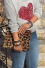 Heather-gray-knit-zara-diy-sweater-blue-high-waisted-cheap-monday-jeans