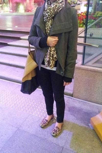 Bab jacket - J Crew scarf - Celine bag - Ralph Lauren pants