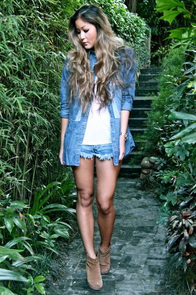 blue One Teaspoon shorts