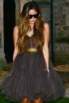 black Lanvin for H&M dress