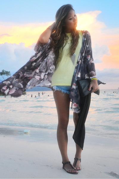 navy kimono Insight jacket