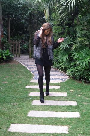 Zara vest - Ashish for Topshop shoes