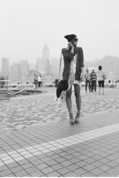 stolen girlfriends club dress - open back mara hoffman cardigan
