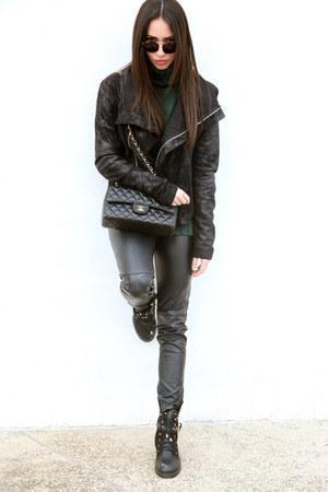 fashionmark boots - Attachment jacket - H&M pants