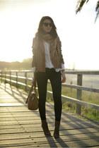 camel Zara jacket