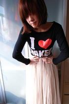beige Stylenanda skirt