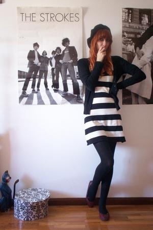 H&M accessories - H&M dress - Zara coat - Mango shoes
