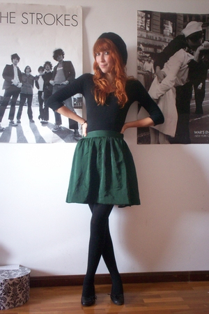 H&M shirt - Primark accessories - H&M skirt - Zara shoes