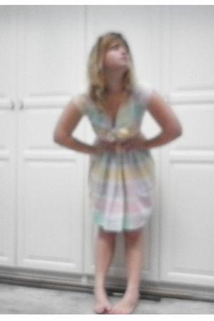 pink Vintage Etsy dress