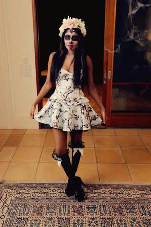silk Wheels and Dollbaby dress