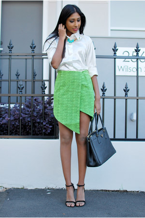 tweed Finders Keepers skirt