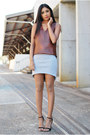 Croc-leather-witchery-top-glassons-skirt