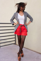 urban behavior blazer - Club Monaco shorts - Express t-shirt - Jessica Simpson c
