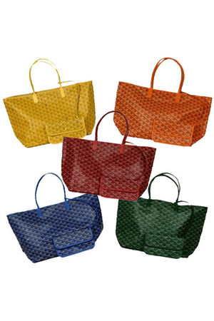 black goyard purse - green purse - blue purse - red purse - gold purse