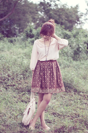noona skirt - Maize top
