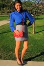 Blue-vintage-blouse-red-vintage-coach-purse-black-vintage-charles-jourdan-sh