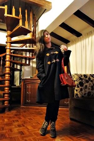 MNG coat - leather bag Milano bag