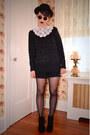 Black-h-m-hat-black-glitter-h-m-sweater