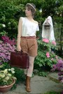 Tawny-urban-outfitters-boots-dark-brown-briefcase-dads-bag-brown-h-m-shorts-