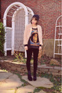 Nasty-gal-cardigan-urban-outfitters-shirt-nasty-gal-necklace
