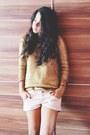 Gold-zara-sweater