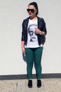 Black-pull-bear-jacket-dark-green-tally-weijl-pants