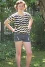 Vintage-shirt-true-religion-shorts
