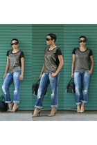 olive green ClosetPiece top