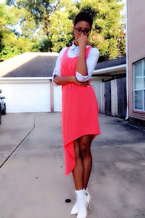 red hi-low dress Target dress