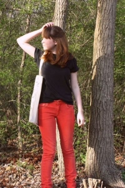 Vain and Vapid on Etsy shirt - H&M jeans - Urban Outfitters shoes - Topshop purs