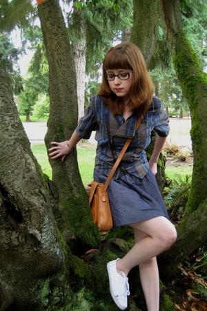 Sample shirt - forever 21 skirt - purse - H&M shoes