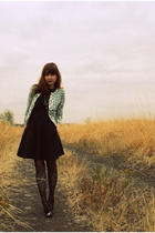 banana republic sweater - Urban Outfitters dress - Forever 21 tights - Bona Drag
