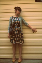 banana republic sweater - Pretty Trashy dress - Kenneth Cole Reaction shoes - Ru