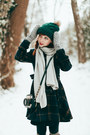 Romwe-coat-romwe-hat-betsey-johnson-bag