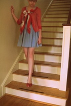jacket - scarf - dress - Blowfish shoes