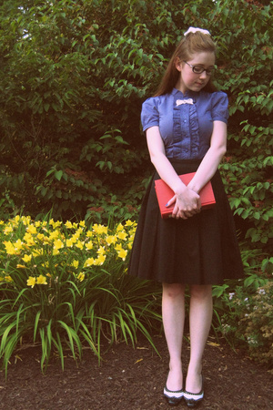 Urban Outfitters shirt - Gap skirt - shoes - accessories